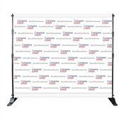 Step and Repeat Backdrop  8' X 8' Graphic Package