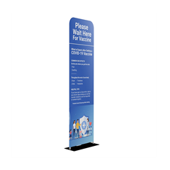 "EZ Tube Tension Fabric Graphic Package 24"" x 90"""