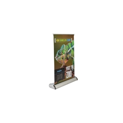 "Table Top Retractable Banner Stand 11.5"" x 17.5"""