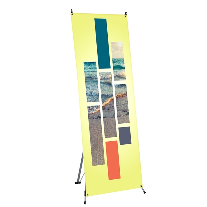 X Banner Stand Graphic Package