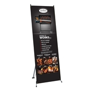 "X-Stand Banner 32"" x 71"" Graphic Package"