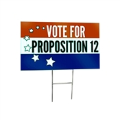 Political Election Signs - Custom Printed