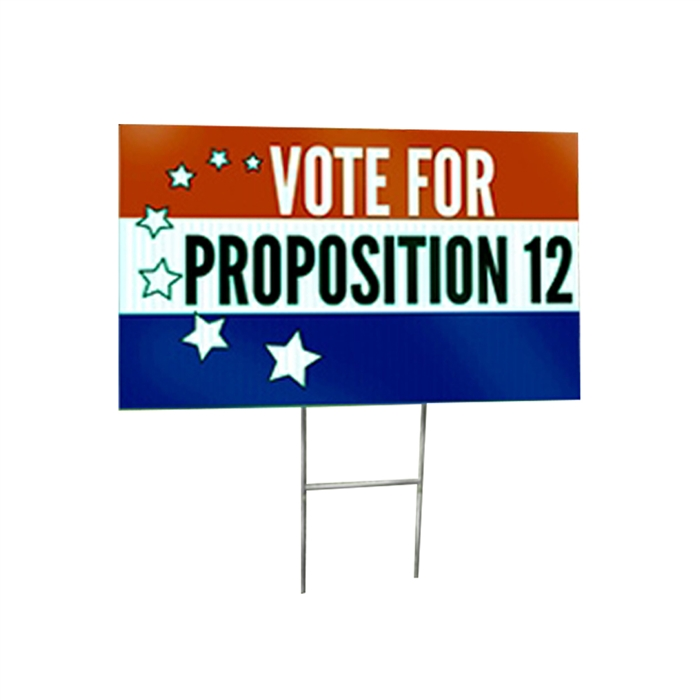 Coroplast Signs, Yard Sign / Political Signs - Custom Printed