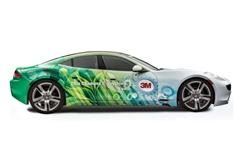 Vehicle Wrap (3M Cast) with Lamination - Custom Printed