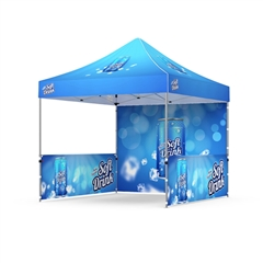 Full Color Custom 10' x 10' Event Tent, Frame and Canopy