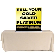 Tabletop Retractable Banner Stand 36