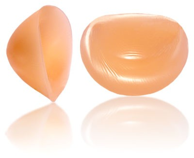 silicone breast enhancers and cleavage