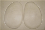 Clear Silicone Teardrop Pads