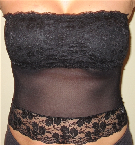 47f334c115 Gorgeous lace bandeau tube top. Looks great under any blazer or low ...