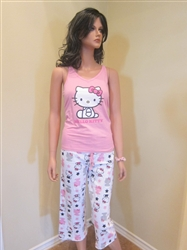 Hello Kitty Pajama Shorts Set