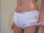 Bride Lace Boyshort Pantie by Playboy