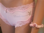 Bridesmaid Lace Boyshort Pantie by Playboy