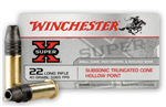 WINCHESTER 22 LONG RIFLE 40 GRAIN SUPER X