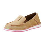 WOMENS CRUISER DIRTY TAUPE SUEDE 6.5B