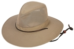 Tan Mesh Safari Hat By Jafari Hats