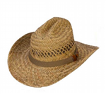 Cattleman Straw Hat By Jafari Hats