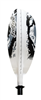 Paddle Day Tour 250cm Winter Camo