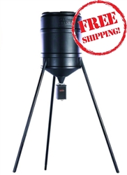 On Time Tomahawk VL 25 Gallon Tripod Feeder
