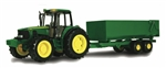 1:16 John Deere 7430 Tractor with Wagon Set