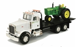 1:16 Peterbilt Model 367 Delivery Truck with John Deere 4020 Tractor