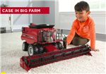 1:16 Case IH 8240 Combine with Draper Head