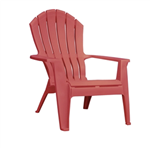 Adirondack Chair- CHERRY RED