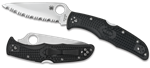 SPYDERCO ENDURA 4 BLACK LIGHTWEIGHT COMBO EDGE