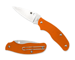 SPYDERCO SPY-DK PLAIN EDGE ORANGE