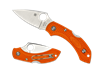 SPYDERCO DRAGONFLY 2 LIGHTWEIGHT PLAIN ORANGE