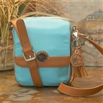 CONCEALED CARRIE CROSSBODY PURSE BLUE