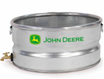 JOHN DEERE GALVANIZED CANNING TANK 2X1 WITH SPIGOT