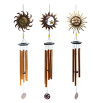 METAL SUN & MOON WINDCHIMES