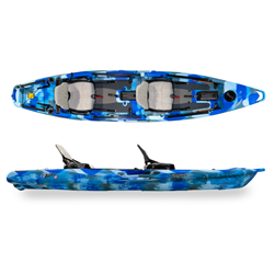 Feelfree Lure II Tandem Blue Camo