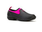 WOMENS MUCKSTER II LOW BLACK/PINK SIZE 9