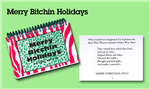 MERRY BITCHIN HOLIDAYS COOKBOOK