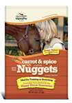 Manna Pro Carrot & Spice Nuggets Horse Treats
