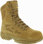 REEBOK 8 IN COYOTE MILITARY BOOT 11.5M