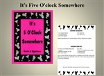 IT'S FIVE O'CLOCK SOMEWHERE COOKBOOK