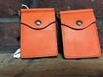 PUMPKIN LEATHER WALLET
