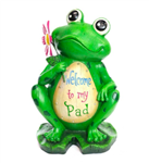 WELCOME TO MY PAD FROG