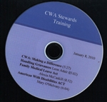 DVD- CWA Stewards Training