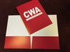 CWA Two Pocket Folder