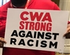 CWA STRONG AGAINST RACISM