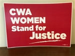Poster for CWA Women's Rally