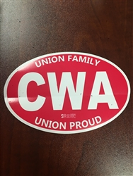 CWA Family Sticker