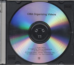 DVD - CWA Organizing Videos