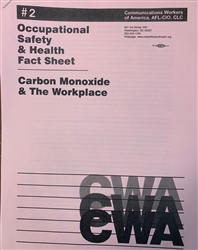 """Carbon Monoxide and the Workplace"""