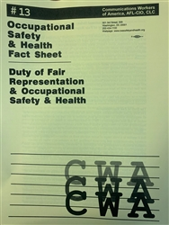 """Duty of Fair Representation and Occupational Safety and Health"""