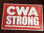 CWA STRONG SIGN