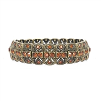 Art Deco Stretch Bracelet